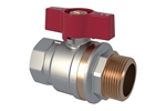 "LK Ball Valve straight 1"" Product image (LKS)"